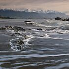 Kaikoura beach by Paul Mercer