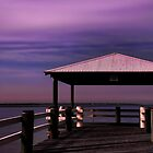 The jetty at night by Gerard Rotse
