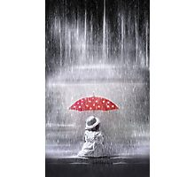 Staying dry Photographic Print