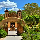 Santuario de Chimayó Church in New Mexico  by Diana Graves Photography