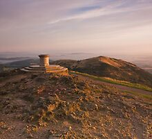 The Beacon - The Malvern Hills by Douglas  Latham