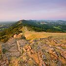 The Malvern Hills : September Morning by Angie Latham