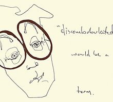"Owl Brown Specs- ""discombobulated"" would be a fitting term. by Jaelah"