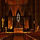 St Patrick's Cathedral, East Melboure (zoomed) - HDR by Jan Clarke