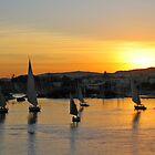 Nile Sunset by BarkingGecko
