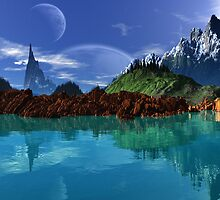 Lathinium Spire - Earthsea by AlienVisitor
