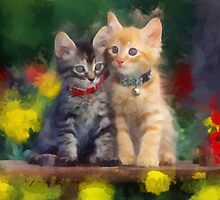 Cute Kittens by rok-e