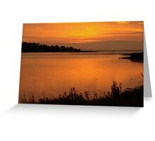 Morning on the Estuary 6:45  Greeting Card