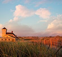 Old harbor life saving station, Cape Cod by bettywiley