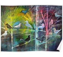 Bird spirits Poster