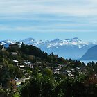 Swiss Mountain scene by Kiriel