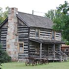 Old Log Home by barnsis