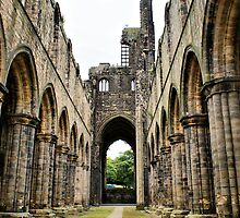 Kirkstall Abbey by JacquiK