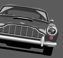 Aston Martin DB5 by ArtPrints