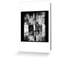 rain walk Greeting Card