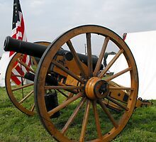 Civil War Cannon by trish725