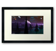 Sittern's light Framed Print
