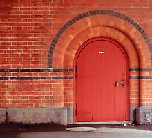 The Red Door by melanchoholic