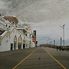 Atlantic boardwalk by Jim  Paredes