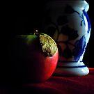 pomme still life by carol brandt