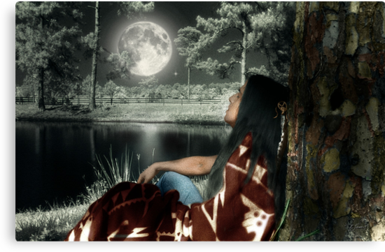Thunder Moon - featuring GaWaNi PonyBoy by Barbara Simmons