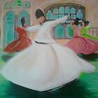 whirling dervishes, istanbul, turkey by yobund