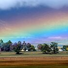 Rainbow in the Hill by suziimages
