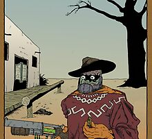 Old West Mushface by MushfaceComics
