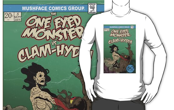 One Eyed Monster 5 T by MushfaceComics