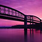 Tamar Bridge Sunrise by Andy Fox