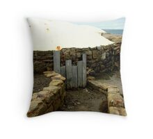 WW2 Bunkers #2 Throw Pillow