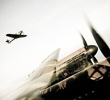 Fighter Escort by David Chadderton