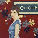 COEXIST #11 -oil on panel, 100x100 cm, 2010 - Finalist in the Combat Prize 2010 - by Barbara Bonfilio