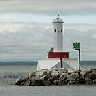Light at Mackinac Island by Bob Hardy
