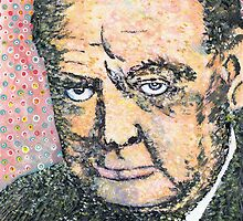 Winston Churchill by George Coombs