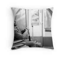 Laughter on the Tube Throw Pillow