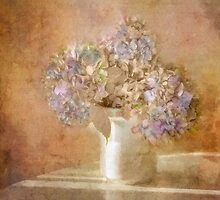 Cape Cod Hydrangeas by Michael  Petrizzo