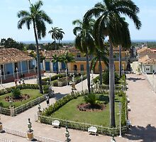 The main square in Trinidad, Cuba by krista121