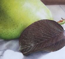 Luscious Pear by Belinda Lindhardt