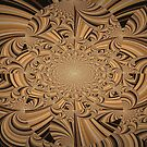 Brown Lines by Linda Miller Gesualdo