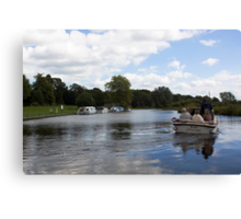 Messing About On The River Canvas Print