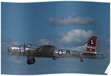 B-17 Superfortress &quot;Yankee Lady&quot; by Henry Plumley