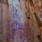Katherine Gorge  Rock Art 2 by Jaxybelle