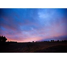 Peamount Early Morning Photographic Print