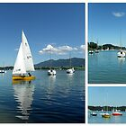 Sailing Boats on Forggensee by ©The Creative Minds