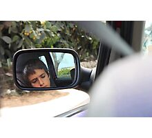 Say remember when we were driving, driving in your car Photographic Print