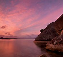 Two Peoples Bay Sunset by Stephen  Williams