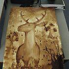 Deer in Coffee by ericamay23
