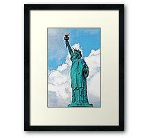 Lady Liberty I Framed Print