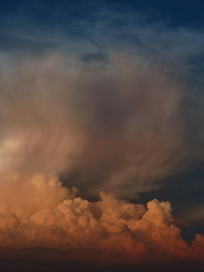 Ominous Clouds by Richard G Witham